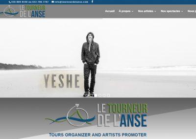 SITE - Le Tourneur de l'Anse