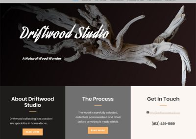 SITE - Driftwood Studio Art
