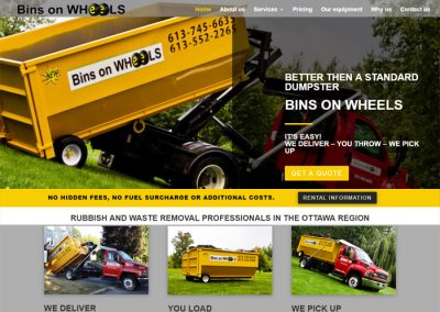 SITE Bins on Wheels